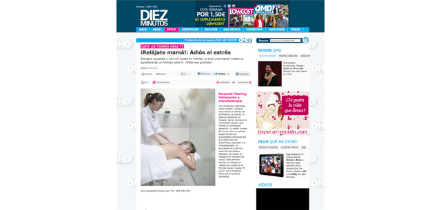Regalar Wellness - Instituto Perez de la Romana