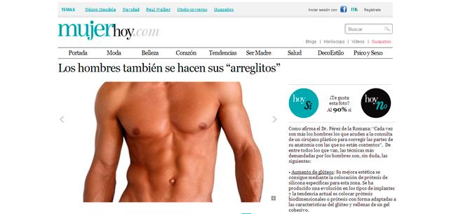 """MujerHoy.com Los Hombres también se hacen sus """"Arreglitos"""""""