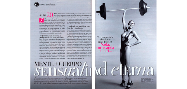 Glamour: Mente + Cuerpo a los 20, 30 y 40