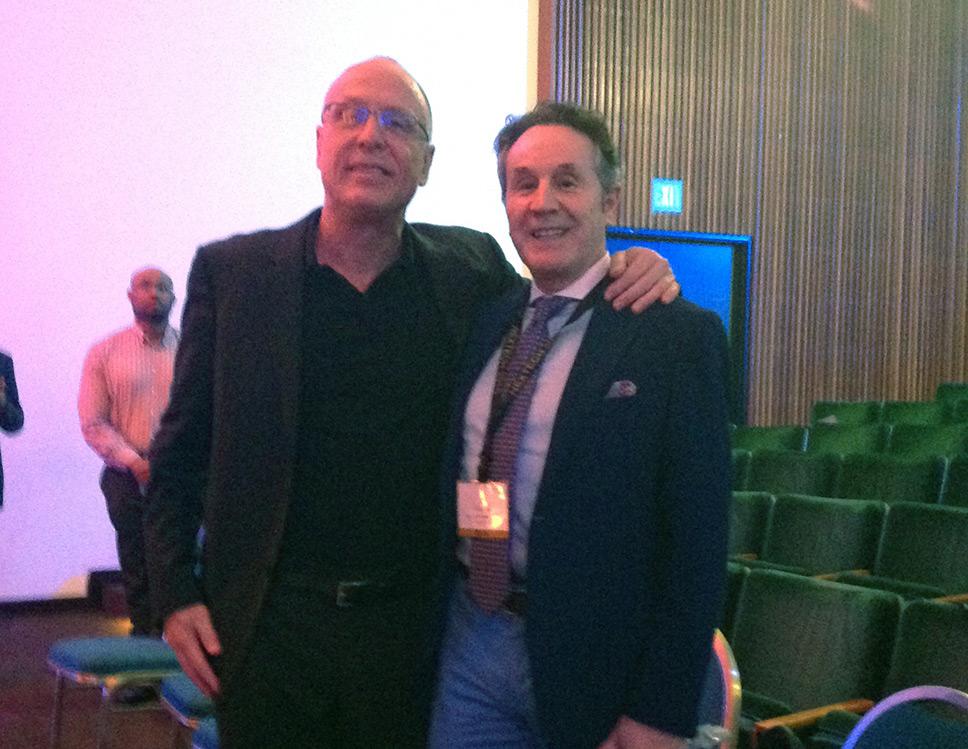 El Dr. Pérez de la Romana en el 50 Symposium Baker Gordon de Miami marten