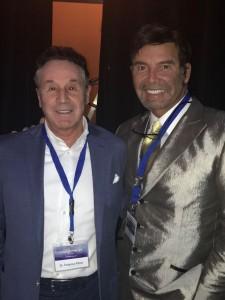 dr. Perez de la Romana con el dr. Mendieta , creador de técnica de Aumento de Gluteos
